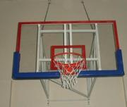 Щит баскетбольный размером 1800х1050 мм