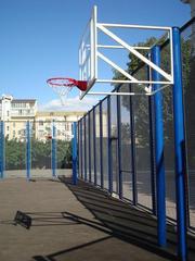 Баскетбольные щиты,  корзины,  стойки баскетбольные стационарные и мобил