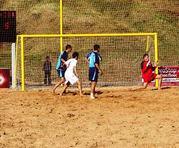 Ворота для пляжного футбола,  сетки