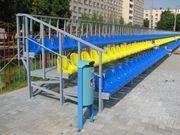 Сиденья стадионные пластиковые