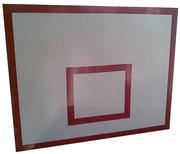 Баскетбольный щит металлический - 0, 8м х1, 0м.